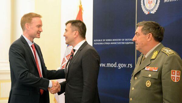 Ministar odbrane Zoran Đorđević i načelnik Generalštaba Vojske Srbije general Ljubiša Diković - Sputnik Srbija