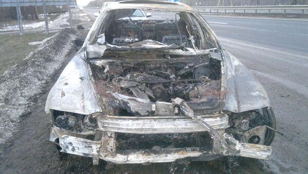Zapaljeni Maserati - Sputnik Srbija