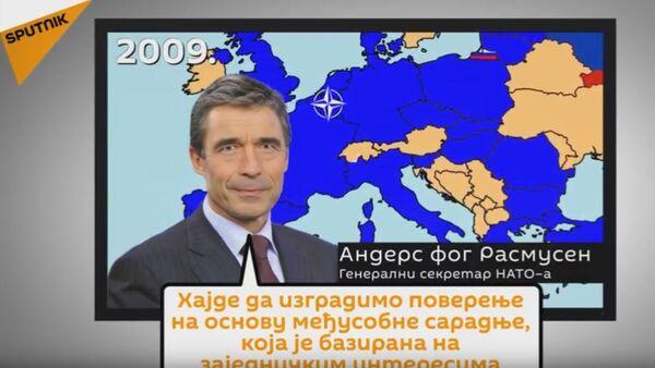 Kratka istorija odnosa Rusije i NATO-a - Sputnik Srbija