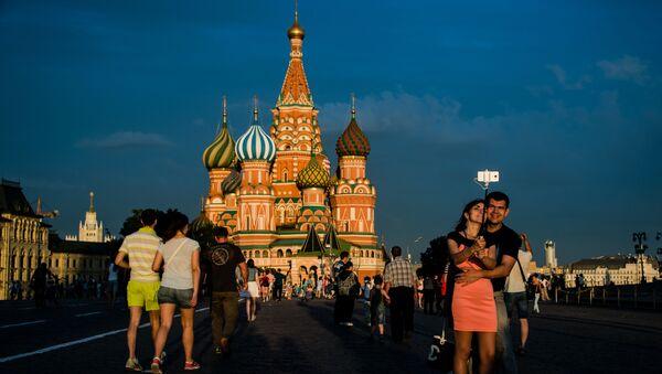 Hram Vasilija Blaženog na Crvenom trgu u Moskvi - Sputnik Srbija