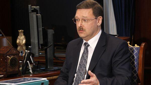 Šef međunarodnog komiteta ruskog Saveta Federacije Konstantin Kosačov - Sputnik Srbija