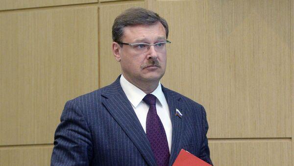 Шеф међународног комитета руског Савета Федерације Константин Косачов - Sputnik Србија