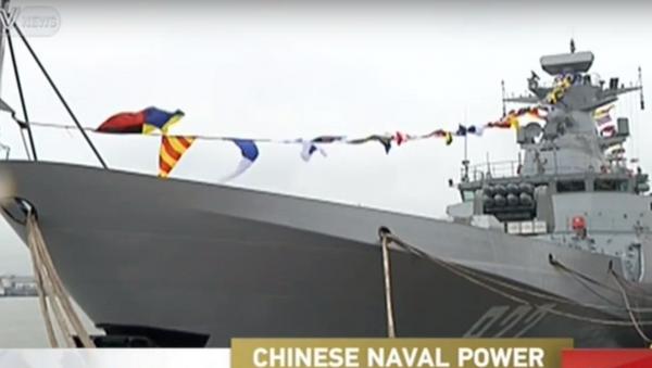 Kineski razarač Jinčuan - Sputnik Srbija