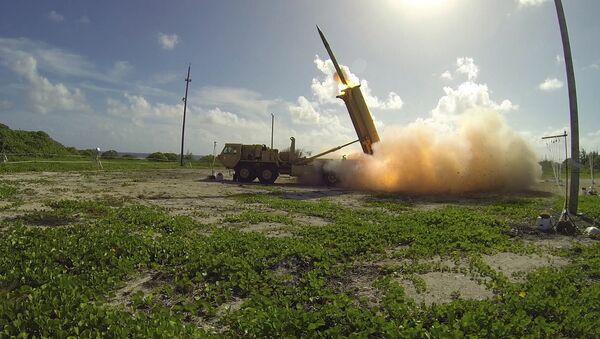 Američki odbrambeni sistem za presretanje raketa THAAD - Sputnik Srbija
