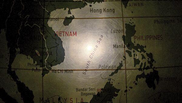 Мапа Јужног кинеског мора - Sputnik Србија