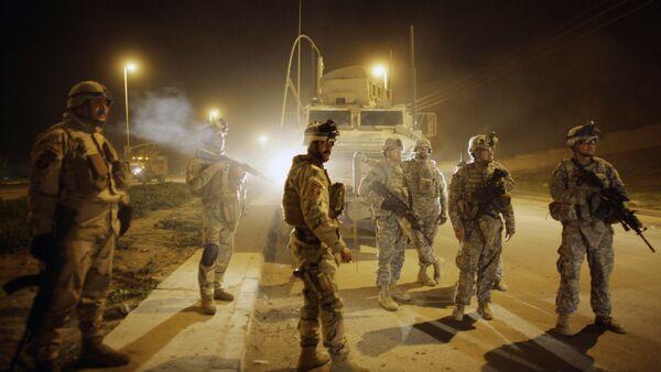 Амерички војници у Мосулу, Ирак - Sputnik Србија
