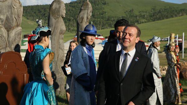Премијер Русије Д. Медведев на Самиту Азија-Европа (АСЕМ) у Монголији - Sputnik Србија