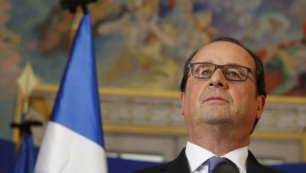 Francuski predsednik Fransoa Oland - Sputnik Srbija