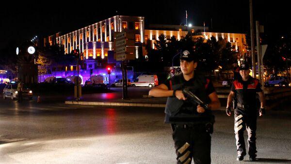 Полицијске снаге близу генералштаба у Анкари - Sputnik Србија