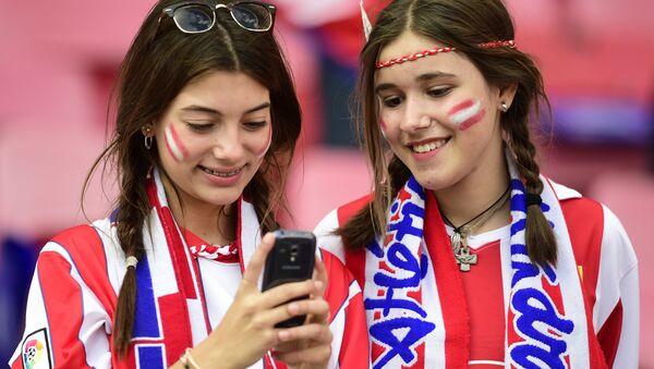 Навијачице ФК Атлетико Мадрид - Sputnik Србија