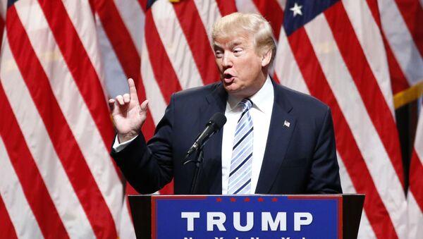 Републикански председнички кандидат Доналд Трамп - Sputnik Србија