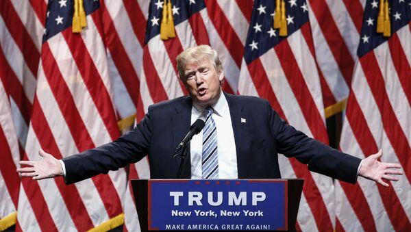 Republikanski predsednički kandidat Donald Tramp - Sputnik Srbija
