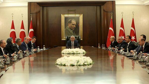 Turski premijer Binali Jildirim u kabinetu u Ankari - Sputnik Srbija