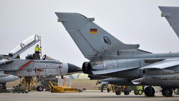 Nemački lovac Tornado pri NATO trupama u vojnoj bazi Indžirlik, Turska - Sputnik Srbija