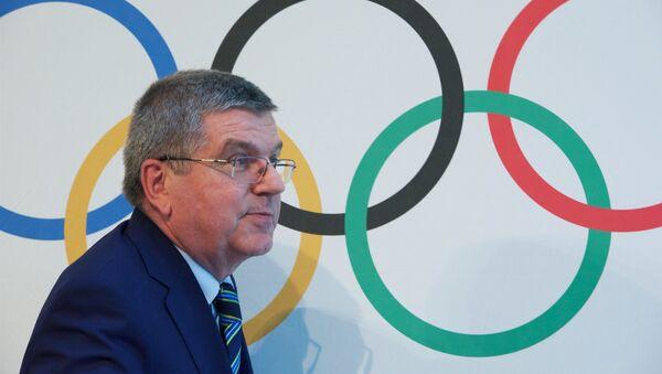 Predsednik Međunarodnog olimpijskog komiteta Tomas Bah - Sputnik Srbija