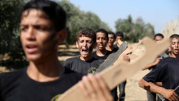 Letnji kamp vojne obuke u Palestini - Sputnik Srbija