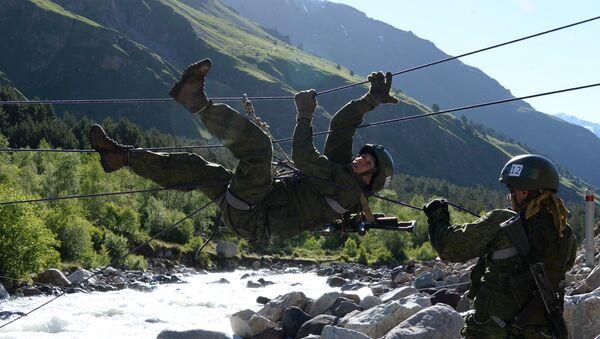 Takmičenje ruskih vojnih planinara na planini Elbrus - Sputnik Srbija