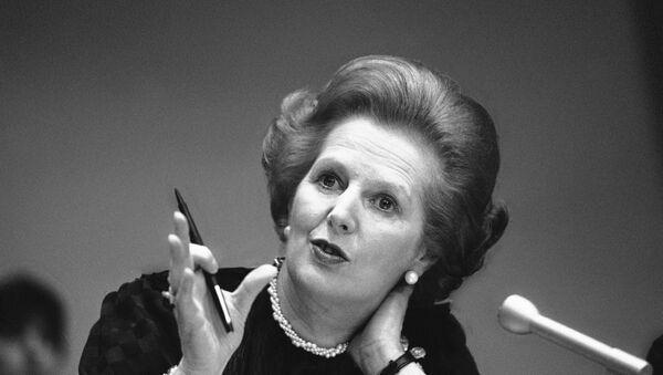 Bivša britanska premijerka Margaret Tačer - Sputnik Srbija