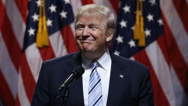 Kandidat Republikanske partije za predsednika SAD Donald Tramp - Sputnik Srbija