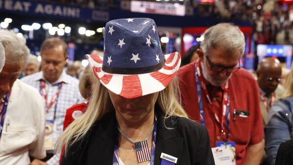 Молитва на конгресу Републиканске партије у Кливленду - Sputnik Србија