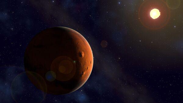 Mars i Sunce - Sputnik Srbija