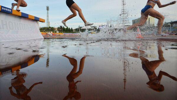 Trka na 3.000 metara sa preprekama, atletika - Sputnik Srbija