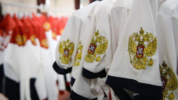 Опрема руских атлетичара за ОИ у Рију 2016. - Sputnik Србија