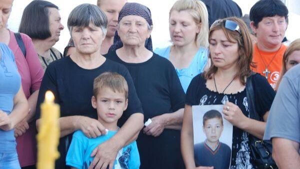 Kosovo i Metohija 23.7.2016.- Obeležavanje godišnjice ubistva 14 srpskih žetelaca u Starom Gracku kod Lipljana  - Sputnik Srbija