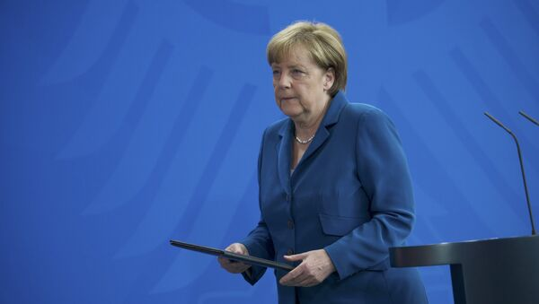 Обраћање Ангела Меркел поводом злочина у Минхену. - Sputnik Србија