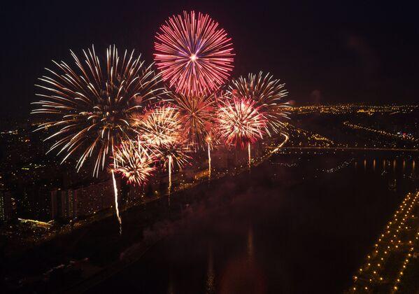 Sve pršti u Moskvi: Međunarodni festival vatrometa - Sputnik Srbija