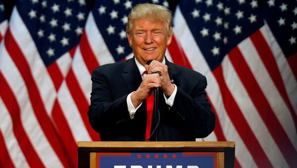 Кандидат Републиканске партије за председника САД Доналд Трамп - Sputnik Србија
