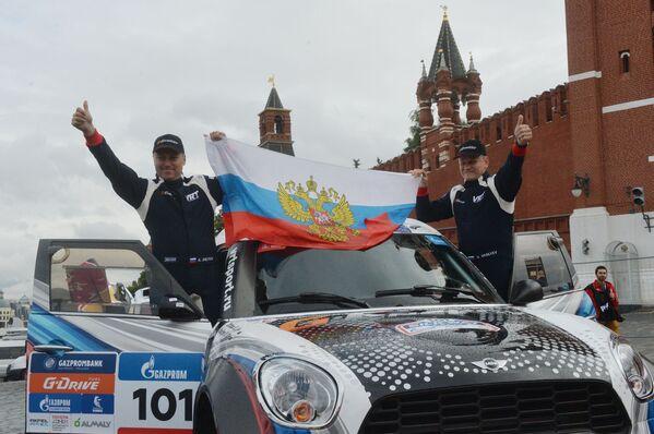 """Рeли """"Пут свиле 2016"""" од Москве до Пекинга - Sputnik Србија"""