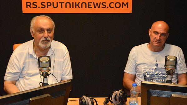 Vladimir Stanković i Goran Grbović - Sputnik Srbija