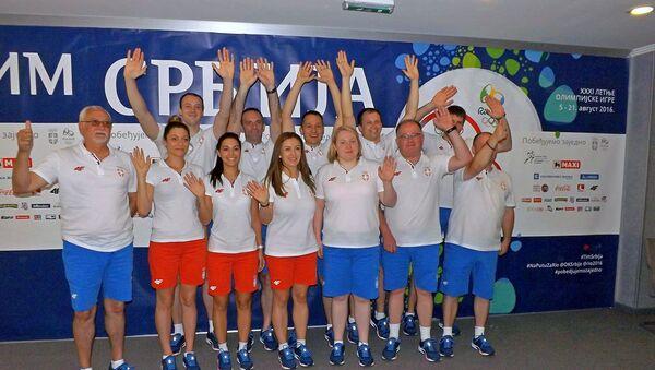 Olimpijski streljački tim Srbije - Sputnik Srbija