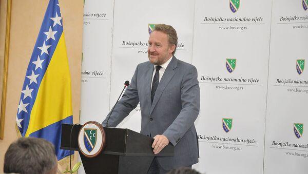 Bakir Izetbegović na skupštini SDA u Novom Pazaru - Sputnik Srbija