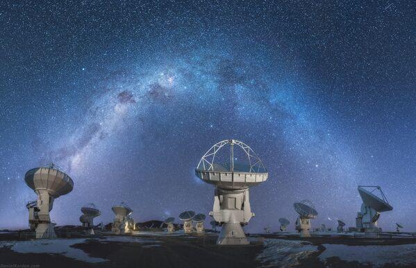 Zvezdano nebo nad Južnom Amerikom - Sputnik Srbija