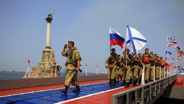 Obeležavanje dana Ratne mornarice Rusije - Sputnik Srbija