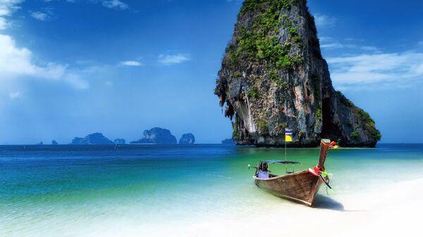 Тропска плажа на Тајланду - Sputnik Србија