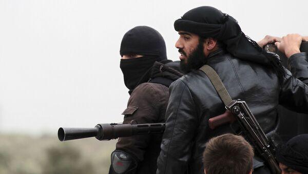 Teroristi u Siriji - Sputnik Srbija