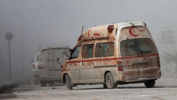 Sirijski Crveni polumesec u Alepu - Sputnik Srbija