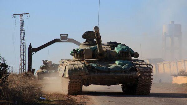 Sirijska vojska na ulazu u Alep - Sputnik Srbija