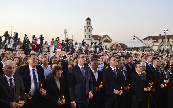 Centralna državna manifestacija obeležavanja 5. avgusta - Dana sećanja na stradanje i progon Srba - Sputnik Srbija