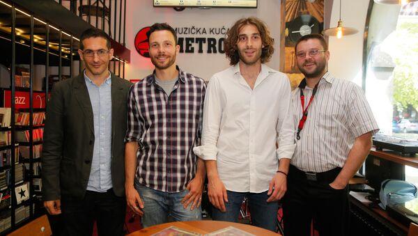 Milan Petrović kvartet - Sputnik Srbija