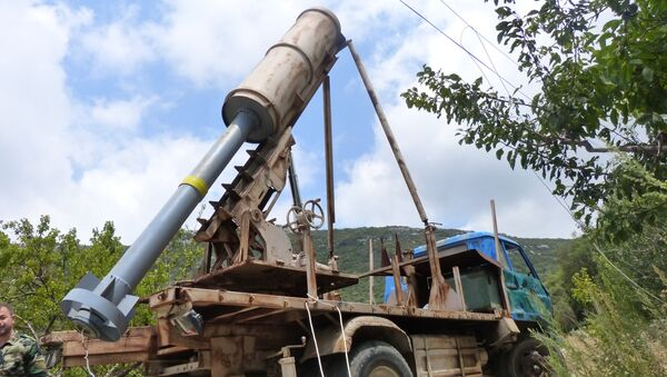 Sirijska armija pronašla novo oružje terorista u blizini Alepa. - Sputnik Srbija