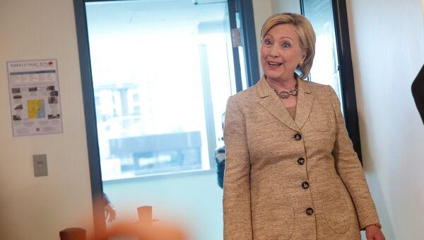 Predsednička kandidatkinja demokrata Hilari Klinton - Sputnik Srbija