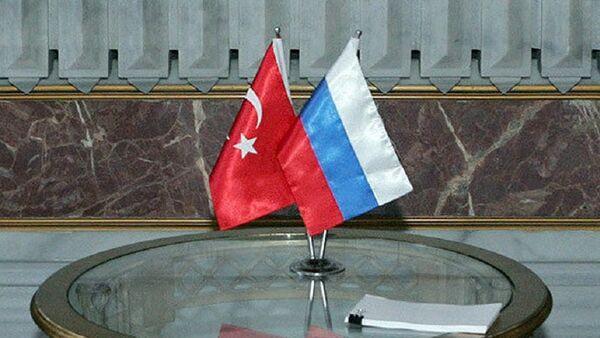 Zastava Rusije i Turske - Sputnik Srbija