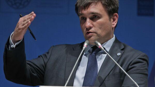 Глава МИД Украины Павел Климкин - Sputnik Србија