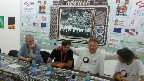 Bend Orlan na Nišvilu - Sputnik Srbija