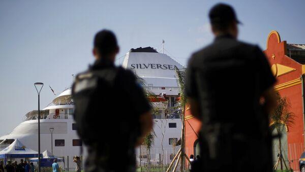 Policajci u Rio de Žaneiru - Sputnik Srbija