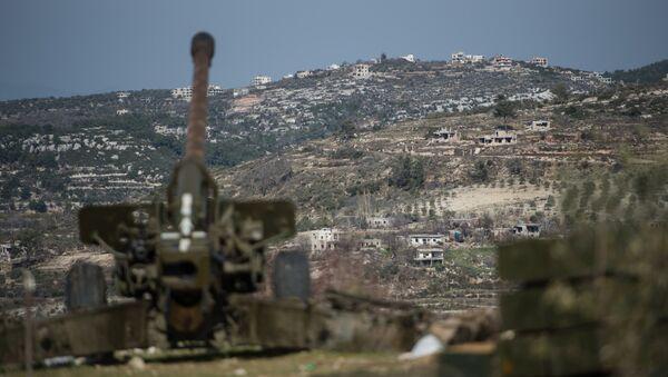 Сиријска војска у граду Идлибу, Сирија - Sputnik Србија